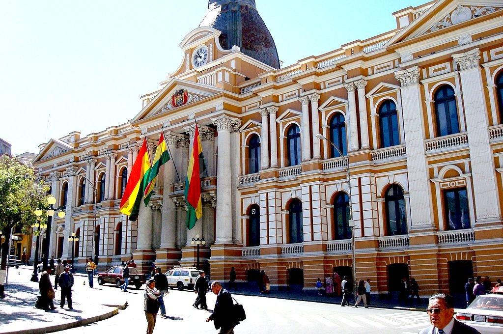Palacio del Congreso Nacional La Paz. Crédito: Captura digital