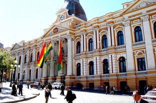 El Congreso boliviano discute proyectos para llamar a elecciones en el corto plazo - Palacio del Congreso Nacional La Paz. -