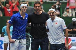 Federer demostró una vez más por qué es el mejor de todos los tiempos, dentro y fuera de la cancha
