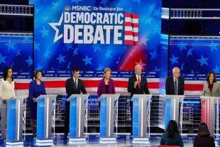 Críticas a Trump en el quinto debate de precandidatos presidenciales