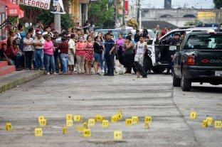 México registró 2.866 asesinatos en octubre
