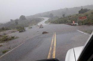 Las lluvias provocan la crecida de los ríos en las sierras cordobesas