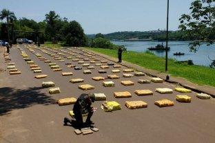 Secuestran mas de 8.000 kilos de marihuana en Puerto Rico, Misiones
