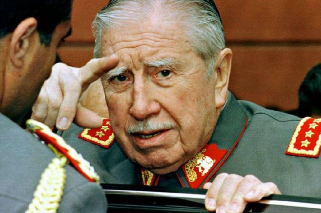 Augusto Pinochet.     Crédito: Gentileza