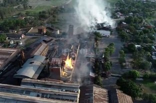 Jujuy: sofocaron el fuego en la destilería y amplían perímetro de seguridad por riesgos