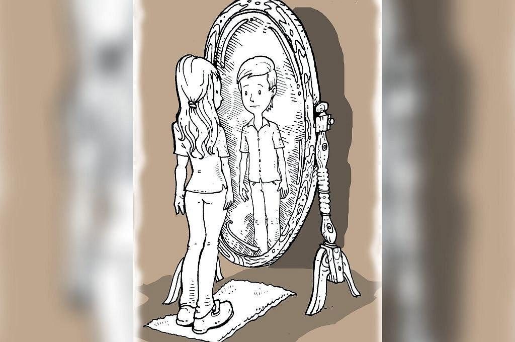 Autopercepción. El reconocimiento de la identidad de género autopercibida es ley, y buscan ampliar derechos. <strong>Foto:</strong> Ilustración: Luis Dlugoszewski.