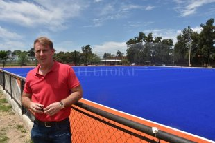 """Patricio López: """"Era una necesidad que nos permite potenciar nuestro hockey"""""""