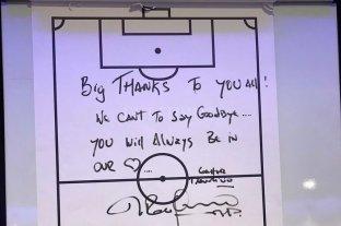 Pochettino se despidió con un mensaje de sus jugadores