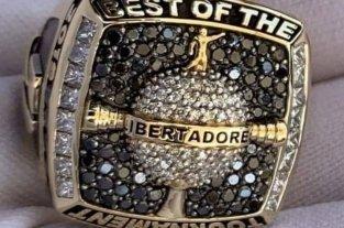 El mejor jugador de la final de la Libertadores recibirá un anillo MVP