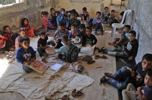 Más de 5 millones de niños sirios necesitan ayuda por la crisis