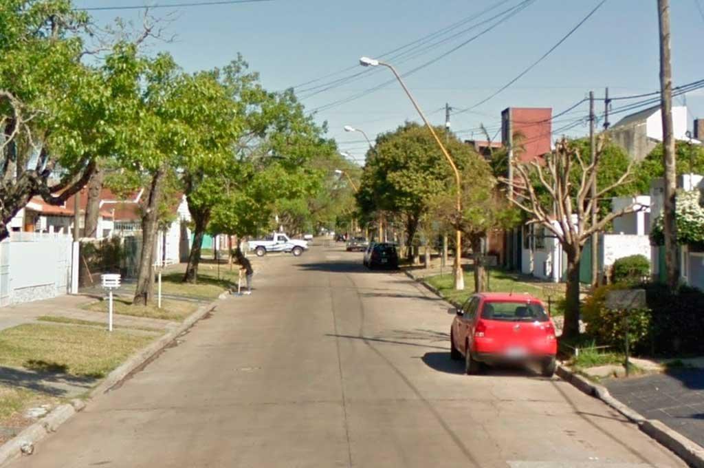 Pedro de Vega al 700, donde se produjo uno de los robos Crédito: Captura de Pantalla - Google Street View