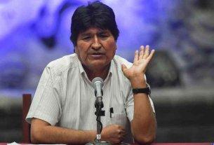 Bolivia exige a México que impida cualquier declaración de Morales que incite a la violencia