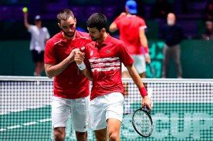 Serbia cayó 2-1 ante Rusia en cuartos de final y quedó afuera de la Copa Davis
