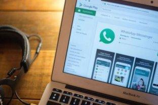 La versión web de Whatsapp está en inglés