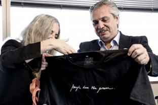 "Patti Smith: ""Alberto Fernández sabe escuchar, eso da esperanzas"""