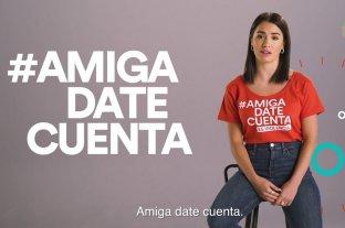 """Lali Espósito es la cara de la campaña """"Amiga date cuenta"""" contra la violencia de género"""
