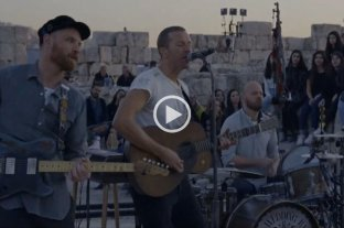 "Coldplay presentó su nuevo álbum ""Everyday Life"" en vivo por YouTube"
