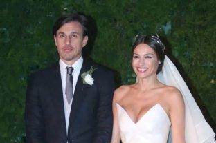 Pampita Ardohain se casó con Roberto García Moritán