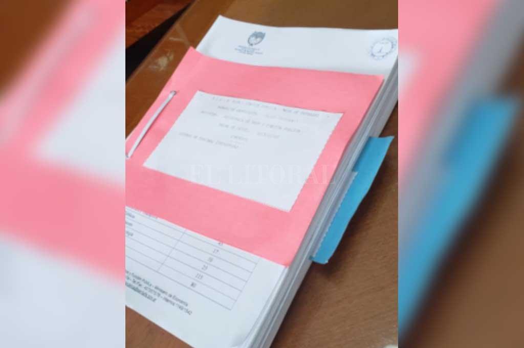 Los listados se mandaron en soporte papel -no digital- y serán revisados por las entidades sindicales para ver si la información es congruente con la que disponen.  Crédito: Gentileza Gobierno de Santa Fe