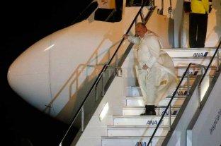 Francisco llega a Japón tras visitar durante tres días Tailandia