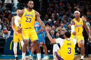 Los Lakers de LeBron James siguen de racha y lideran el Oeste