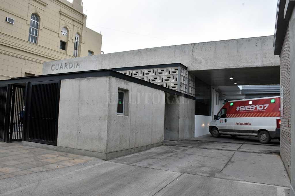 Todas las personas lesionadas fueron asistidas en el hospital Cullen <strong>Foto:</strong> Guillermo Di Salvatore