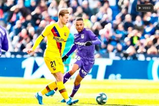 Barcelona le dio vuelta el partido a Leganés