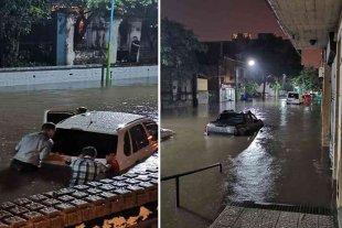 Tucumán: más de 20 personas tuvieron que ser evacuadas por las intensas lluvias