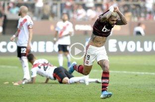 Videos: Mirá los goles de la final entre Flamengo y River