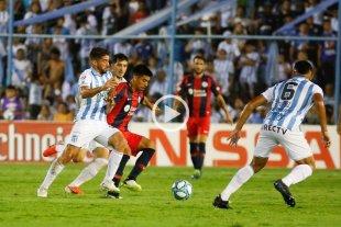 Atético Tucumán y San Lorenzo igualaron 2 a 2