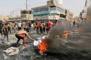 Continúa la represión de las protestas en Irak, donde ya suman 340 los muertos desde octubre