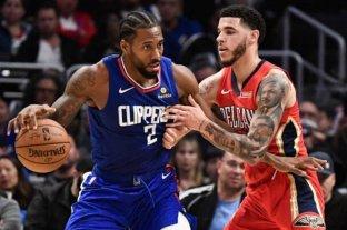 Los Ángeles Clippers venció a Pelicans por la NBA