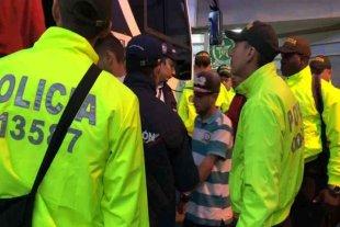 La policía de Colombia expulsó a 60 venezolanos por participar en las protestas