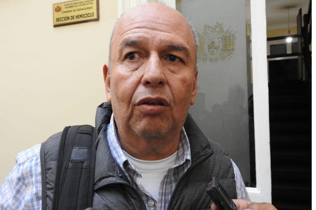 Arturo Murillo, ministro del interior interino de Bolivia.    Crédito: Gentileza