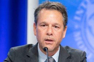 El FMI cambió al jefe de la misión para la Argentina: nombró a un venezolano en lugar del italiano Cardarelli