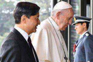 El papa cuestionó la cultura del éxito a cualquier precio durante su visita a Japón
