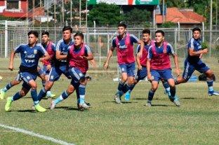 El Sub 15 debuta en el Sudamericano