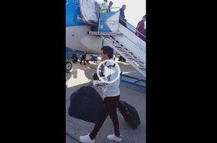 """Video: """"Peor es irse a la B"""" le dijeron a Gallardo"""