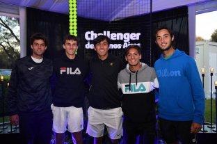 Cinco argentinos jugarán el Mundial juvenil de tenis en México