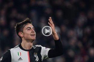 Con gol de Dybala, Juventus venció al Atlético de Madrid