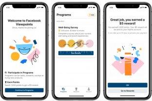 """Viewpoints: la nueva App de Facebook que """"paga"""" por responder encuestas"""