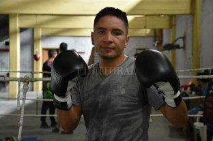 Boxeo: el campeón argentino de los ligeros prepara su defensa en el gimnasio de Colón