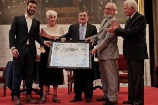 """Homenaje a Graciela Fernández Meijide por su """"compromiso con los derechos humanos"""""""