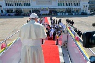El Papa llamó al diálogo en Chile