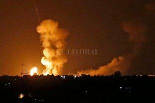 Israel bombardeó objetivos de Hamas