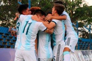 El Sub 15 arrancó el Sudamericano con una goleada