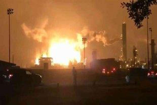 Fuerte explosión en una planta química de Texas
