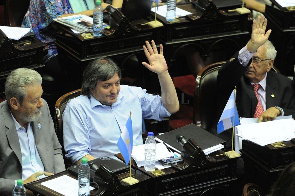 Máximo Kirchner presidirá la bancada del PJ en Diputados. <strong>Foto:</strong> Archivo El Litoral