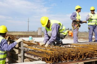 El nivel de empleo en la construcción tiende a la baja