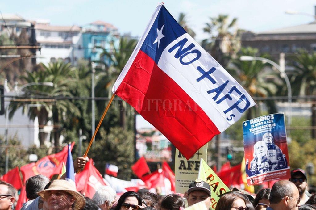 Protestas en Chile Crédito: Archivo El Litoral